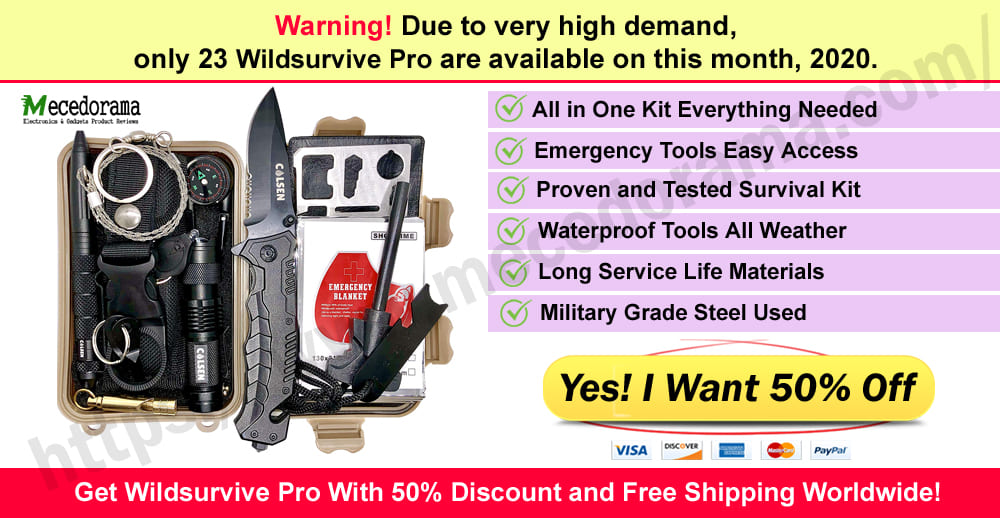Wildsurvive Pro Where to Buy Meceoderma