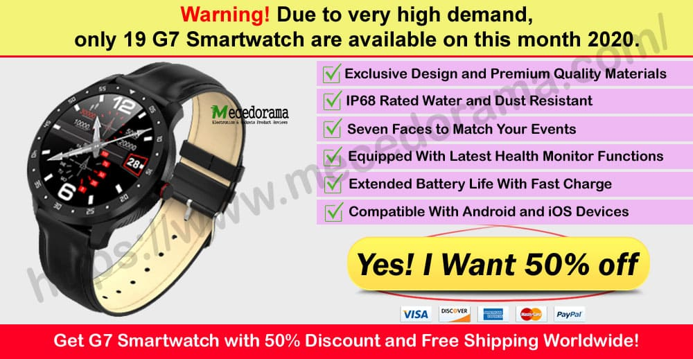 G7 SmartWatch Where to Buy Mece
