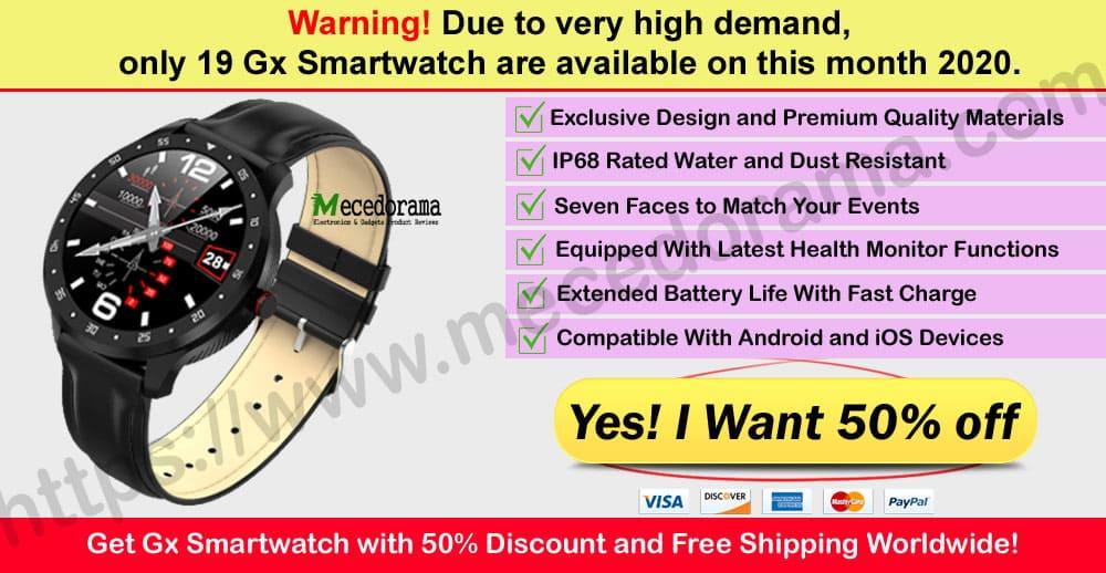 Gx Smartwatch Where to Buy Mece