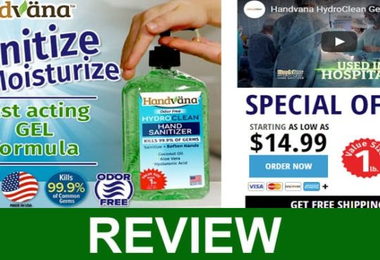 Handvana Hand Sanitizer Gel Reviews