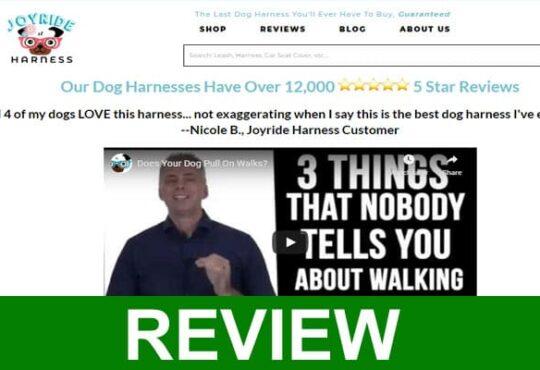 Joyride Dog Harness Reviews 2020