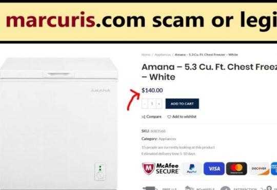 Marcuris Website Reviews