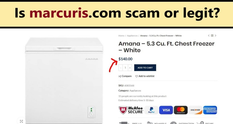 Marcuris Website Reviews