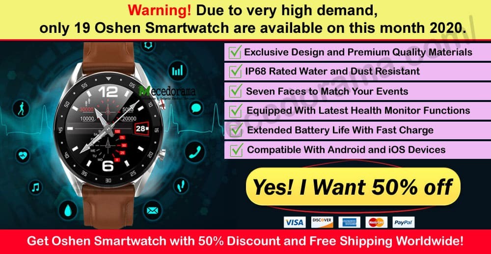 Oshen Smartwatch Where to Buy