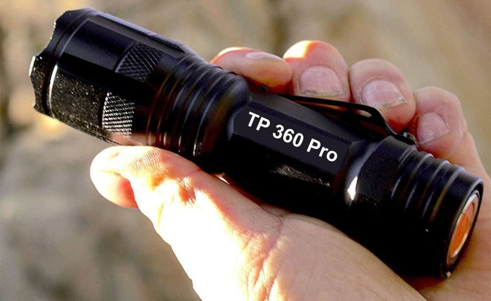 tp360 Pro Flashlight Review