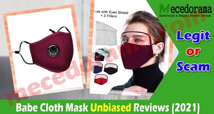 Babe Cloth Mask Reviews (July 2020) Is It Legit Or Scam