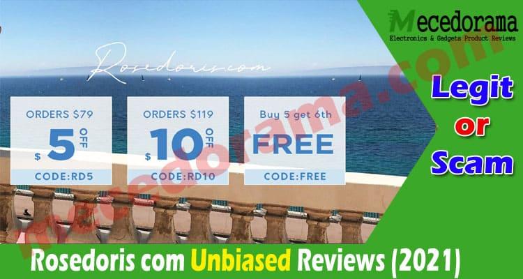 Rosedoris com Reviews [July] Read Post Before Shopping Here