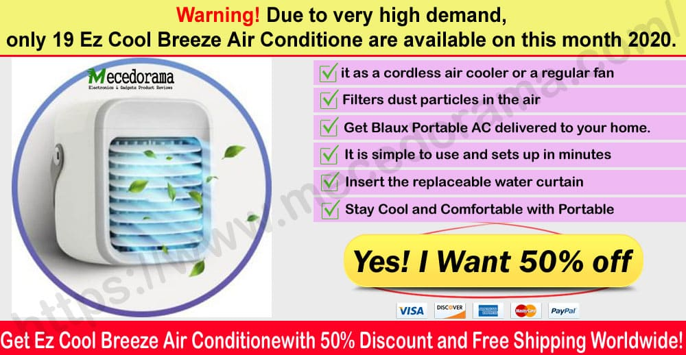 Ez Cool Breeze Air Conditioner where to buy
