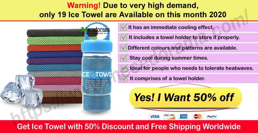 Ice Towel Where to Buy Mece