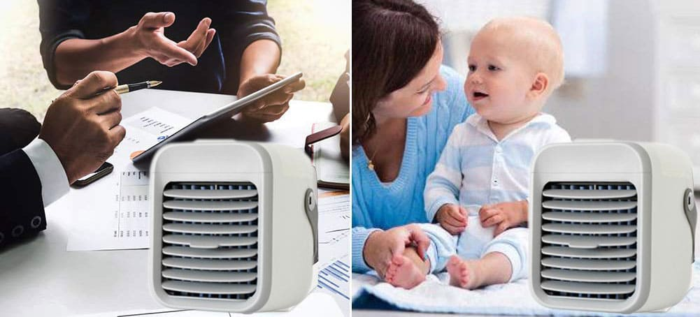 Ultra Cools Portable AC Work