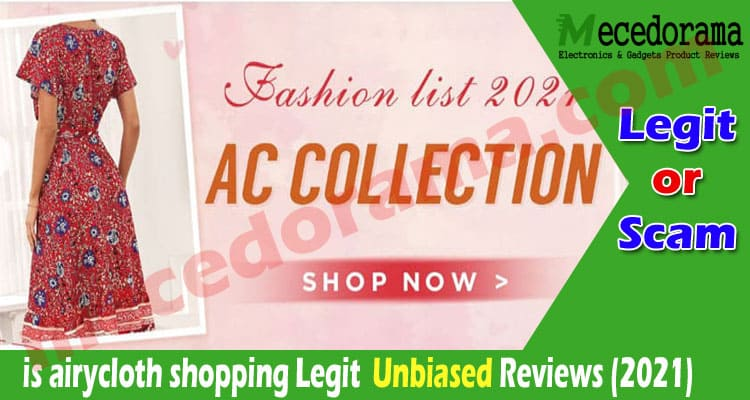 is airycloth shopping Legit {Mar 2021} Is It Scam or Not