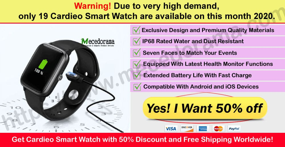 Cardieo Smart Watch Where to Buy Mece
