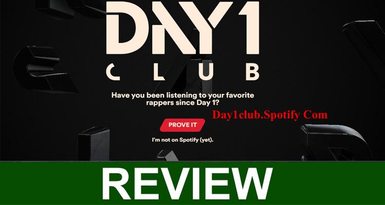 Day1club.Spotify Com 2020