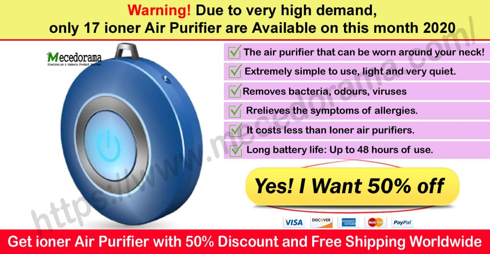 Ioner Air Purifire Where to Buy on Mece