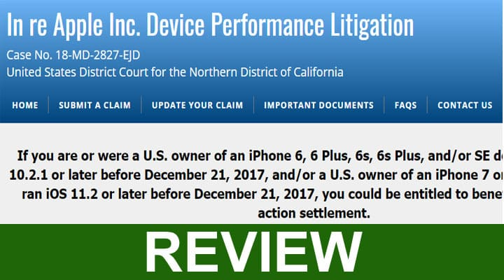 Is Smartphoneperformancesettlement Scam 2020