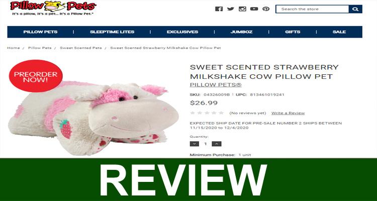 Is Strawberry Cow Pillow Pet Legit