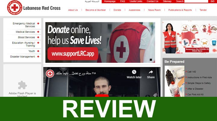 Is the Lebanese Red Cross Scam 2020