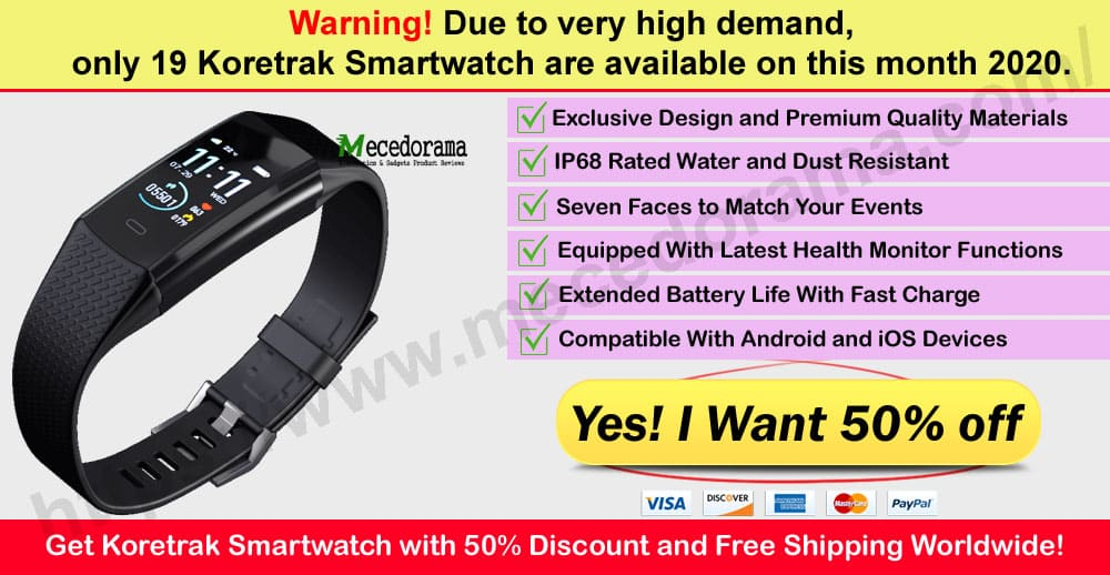 Koretrak Smartwatch Review Where to Buy on Mece