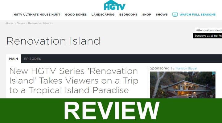 Renovation Island Website 2020