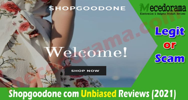 Shopgoodone com Reviews [Sept 2020] Is It a Legit Store
