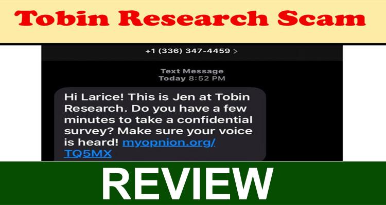 Tobin Research Scam 2020