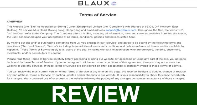 Blaux Customer Service.