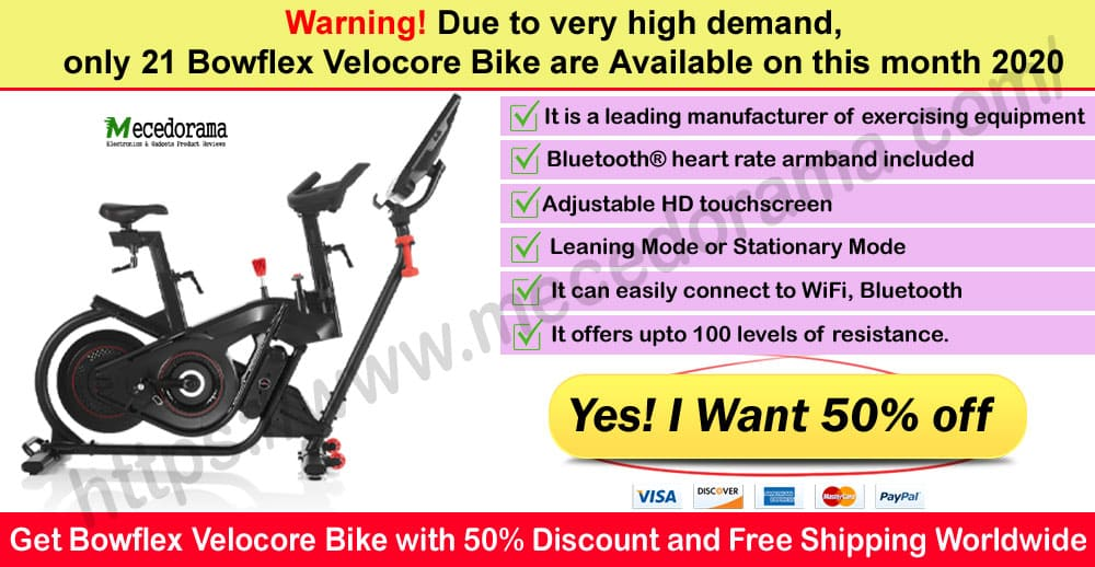 Bowflex Velocore Bike Review Where to Buy Mece
