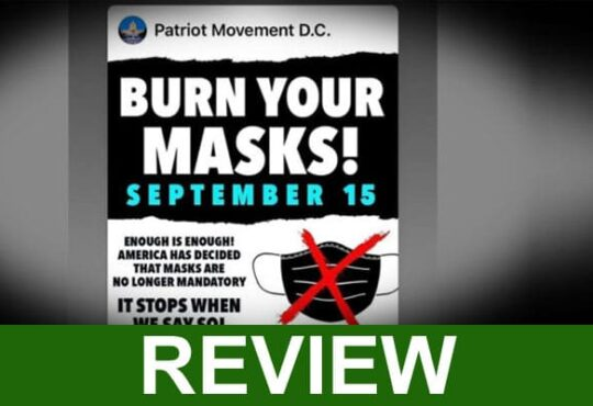 Burn Your Mask Day September 15 Updated 2020
