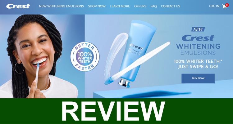 Crest Whitening Emulsions Reviews {Sep} Is It Legit