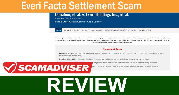 Everi Facta Settlement Scam