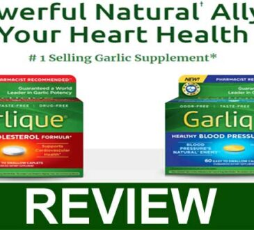 Garlique Blood Pressure Reviews