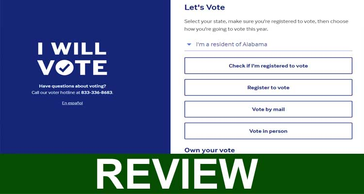 Iwillvote.com Reviews (Sep 2020) All About Voting!