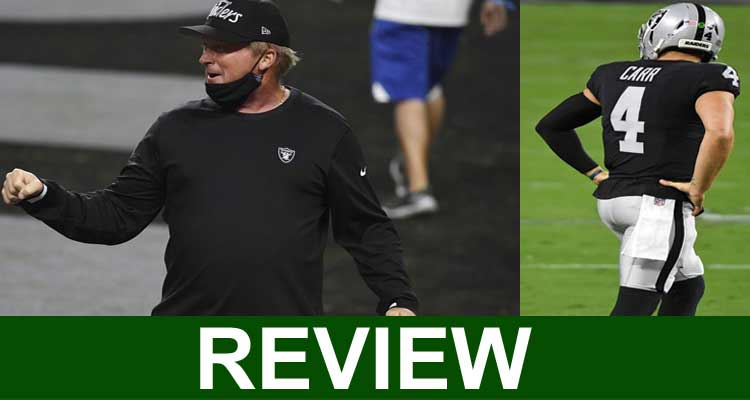 Jon Gruden Mask (Sep 2020) Reveal Its Facts for Clarity.