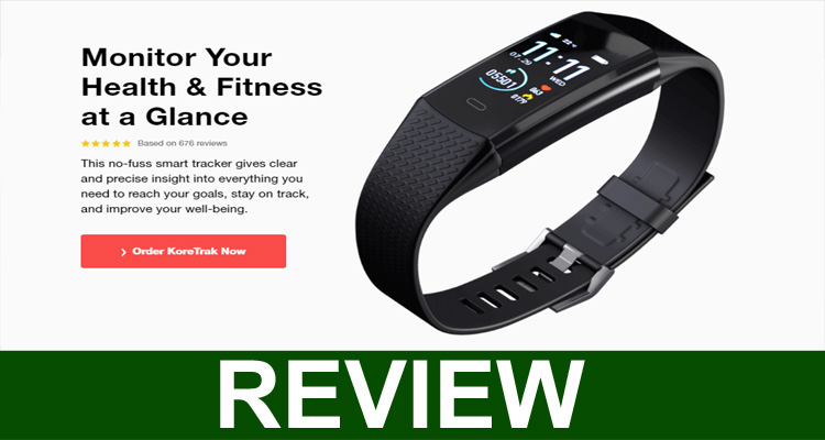 Kore Track Smart Watch Review.
