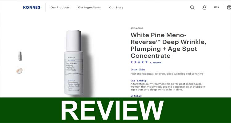 Korres Meno Reverse Reviews