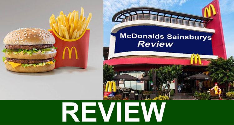 Mcdonalds Sainsburys Review