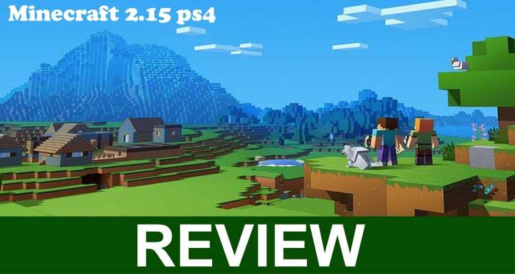 Minecraft 2.15 ps4