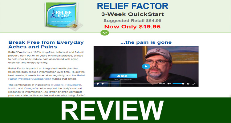 Relieffactor.com Reviews