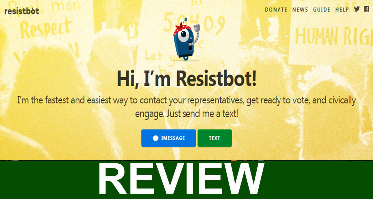 Resistbot Scam
