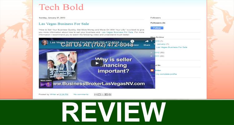 Techbold Blogspot (Sep 2020) Reviews for Better Clarity.