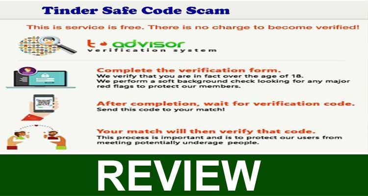 Tinder Safe Code Scam 2020