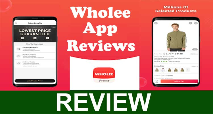 Wholee App Reviews