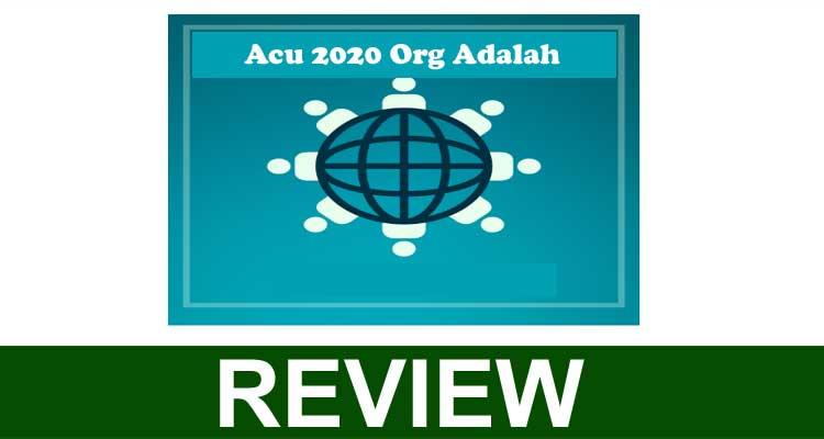 Acu 2020 Org Adalah 2020