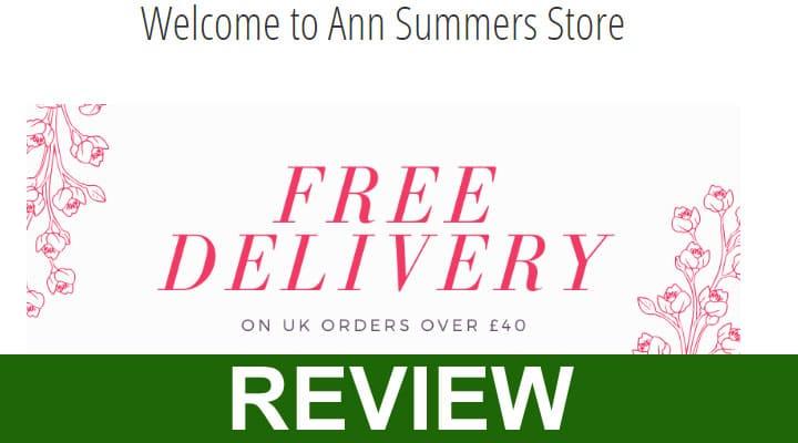 Ann Summer Official Website UK Reviews 2020