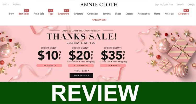 Annie Cloth Scam 2020