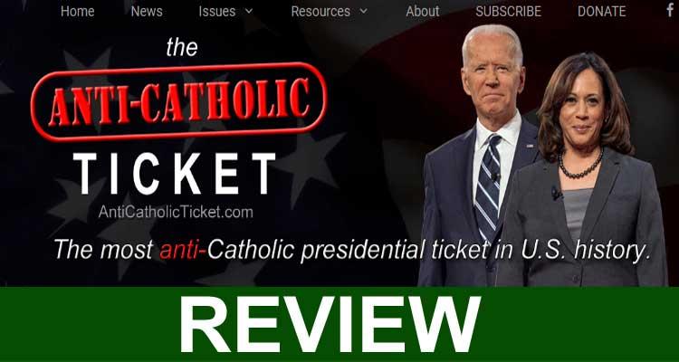 Anti-Catholic Ticket Com Archives 1510 2020