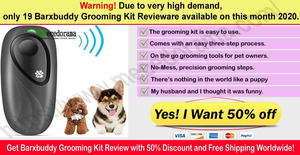 Barxbuddy Grooming Kit Reviews Where to buy 2020