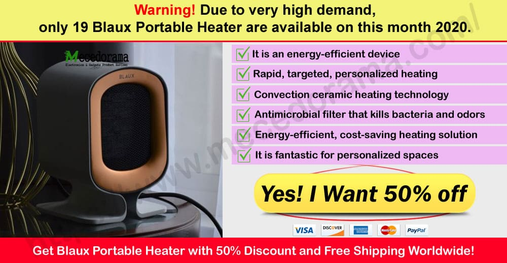 Blaux Portable Heater Reviews Where to Buy