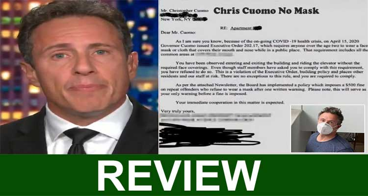 Chris Cuomo No Mask 2020