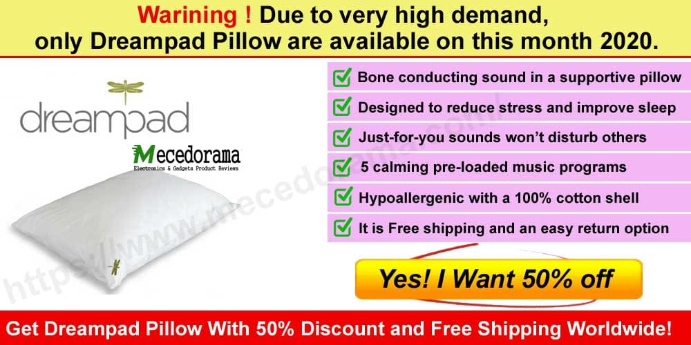 Dreampad Pillow Reviews where to buy mecedorama